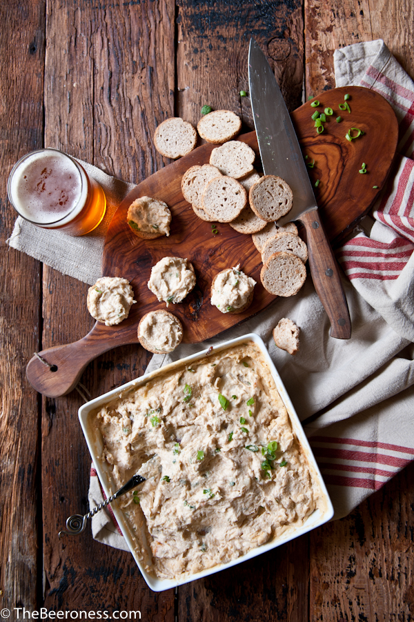 Hot Crab Beer Cheese Dip