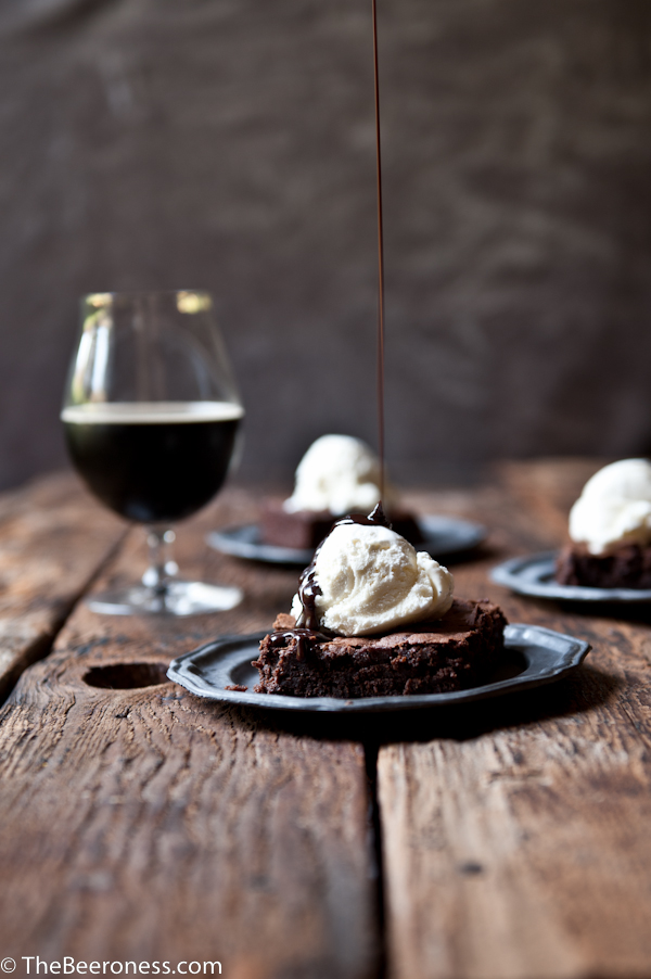 Pumpkin Porter Brownies Sundaes1