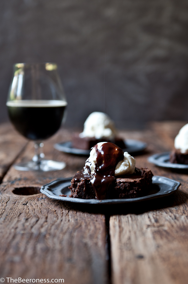 Pumpkin Porter Brownies Sundaes3