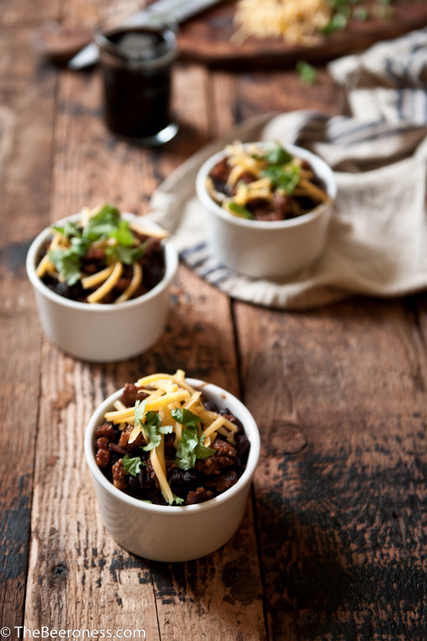 Porter Chorizo Black Bean Soup_
