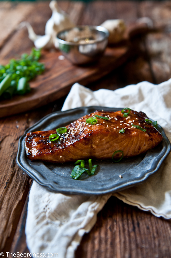 Porter Ginger Glazed Salmon 2