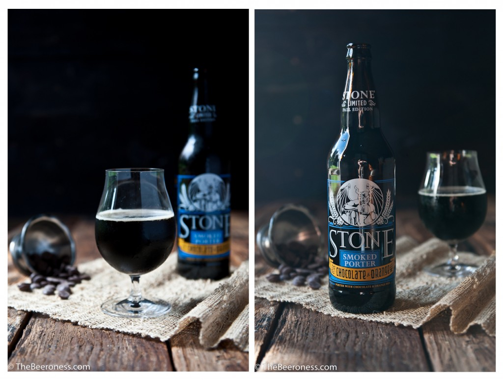 Stone Brewing Smoked Porter with Chocolate and Orange Peel