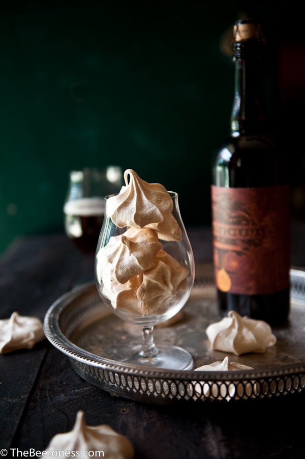 Beer Meringue Cookies