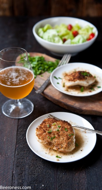 Lime Pepper Crusted Beer Steamed Sea Bass Cheeks