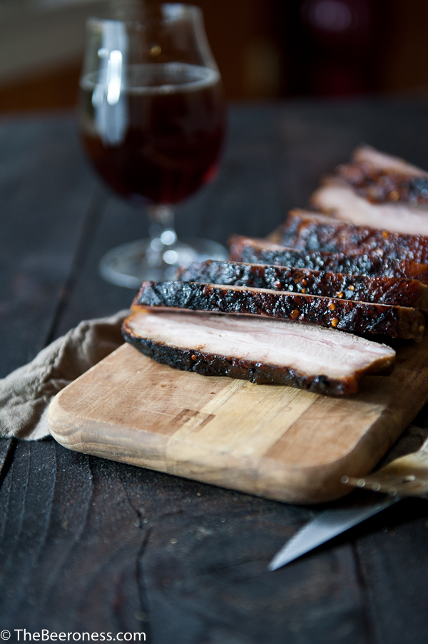 Stout Brined Crispy Chili Brown Sugar Pork Belly 2