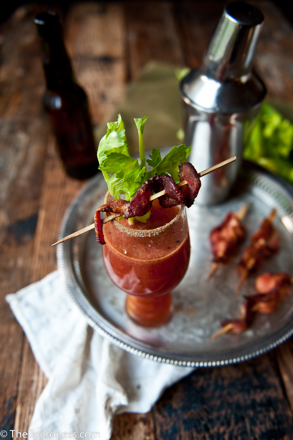 Sriracha Bloody Beer with Chili Sugar Bacon-3