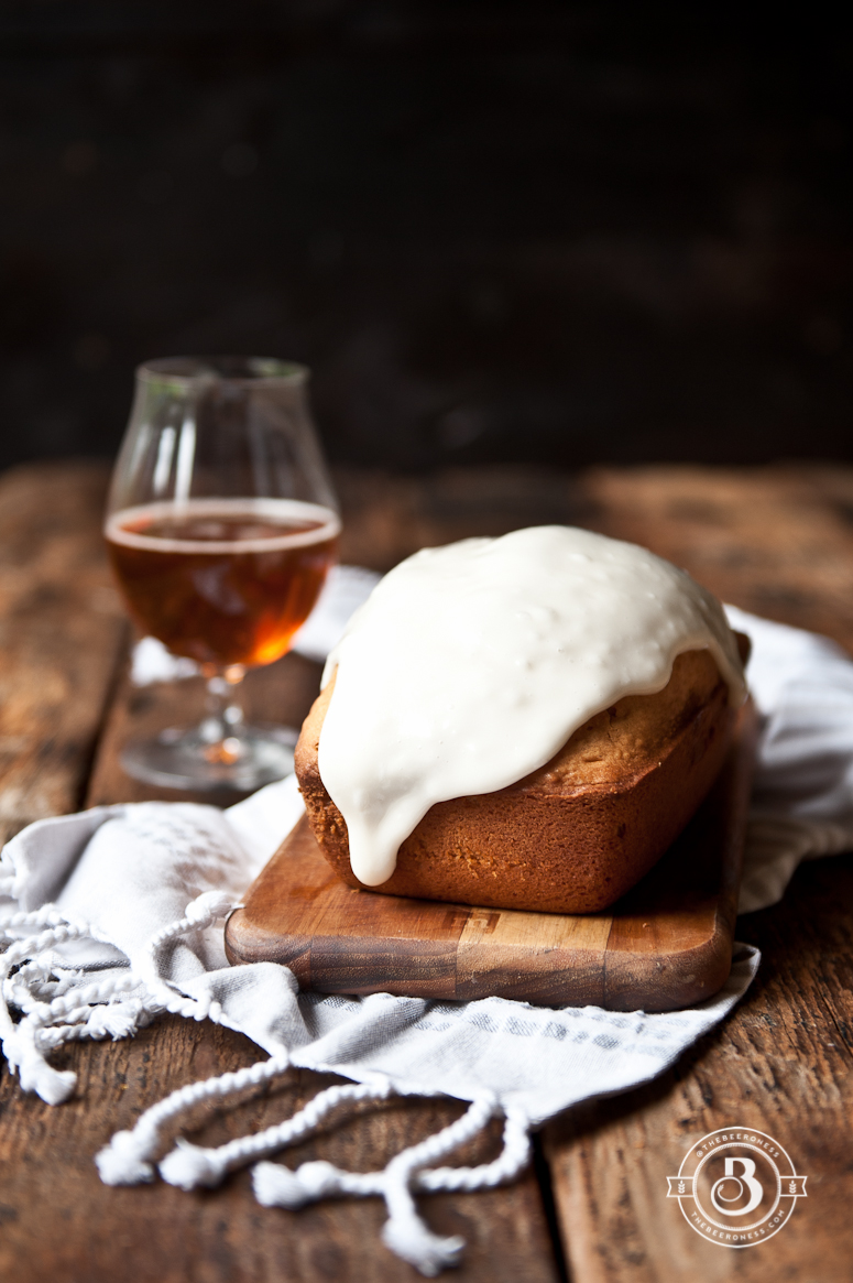 Glazed Doughnut Beer Cake