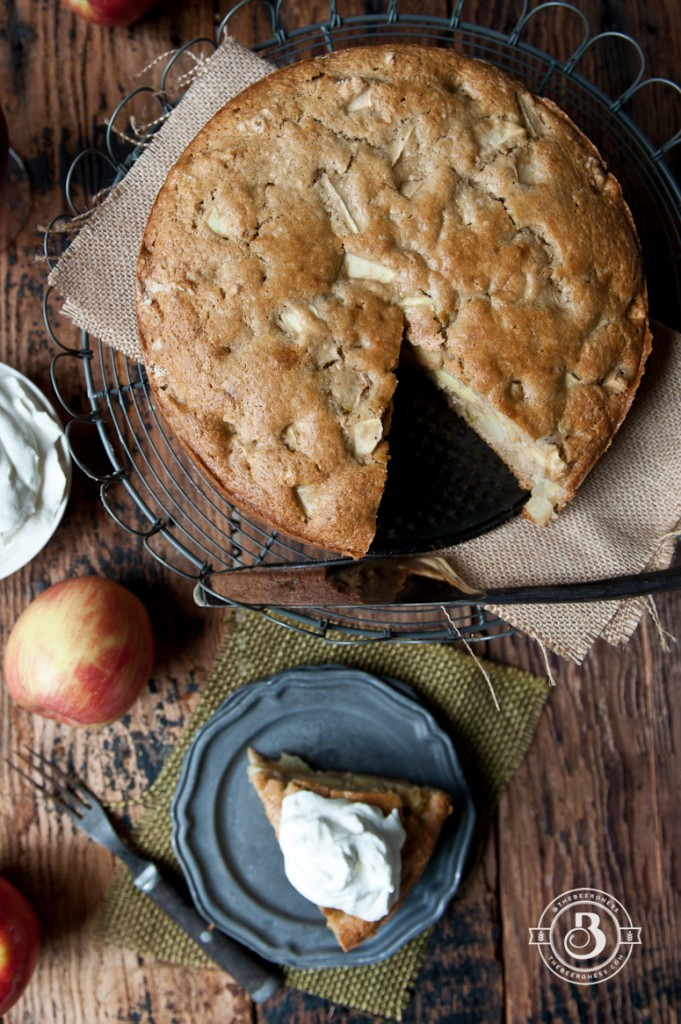 Irish Apple Beer Cake -3