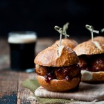 Stout BBQ Meat Ball Sliders