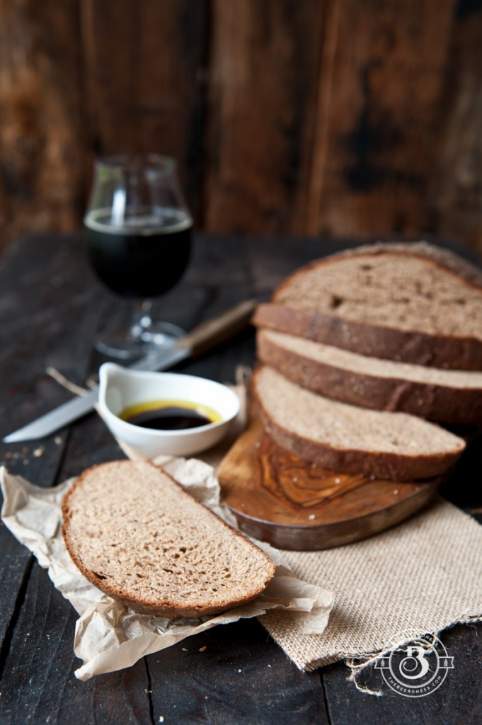 Awesome Vegan Whole Wheat Stout Loaf-1