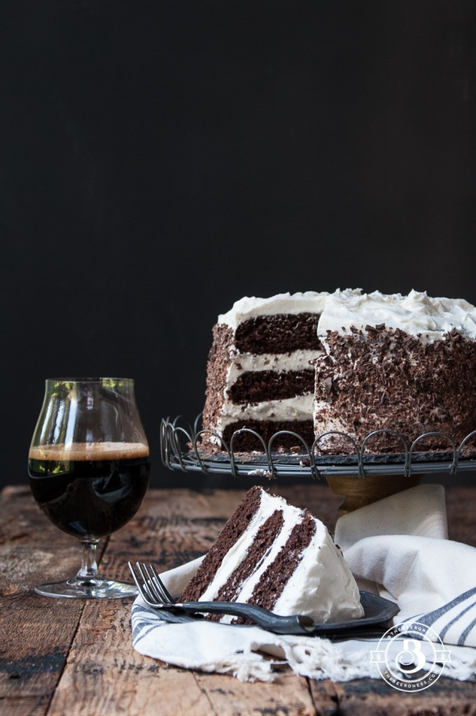 Black & Tan Stout Cake -3