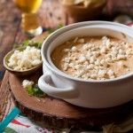 Corn and Cotija Beer Cheese Dip