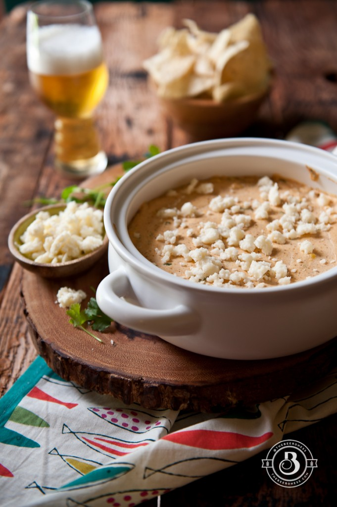 Corn and Cotija Beer Cheese Dip -6