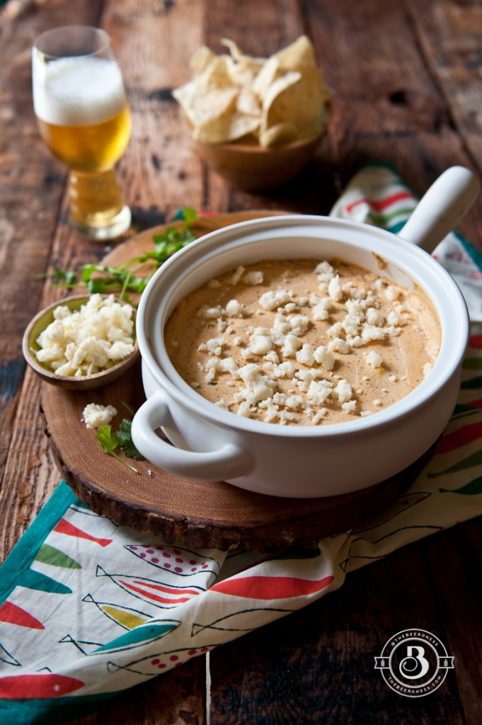 Corn and Cotija Beer Cheese Dip -7