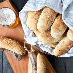 Homemade Beer Hot Dog Buns