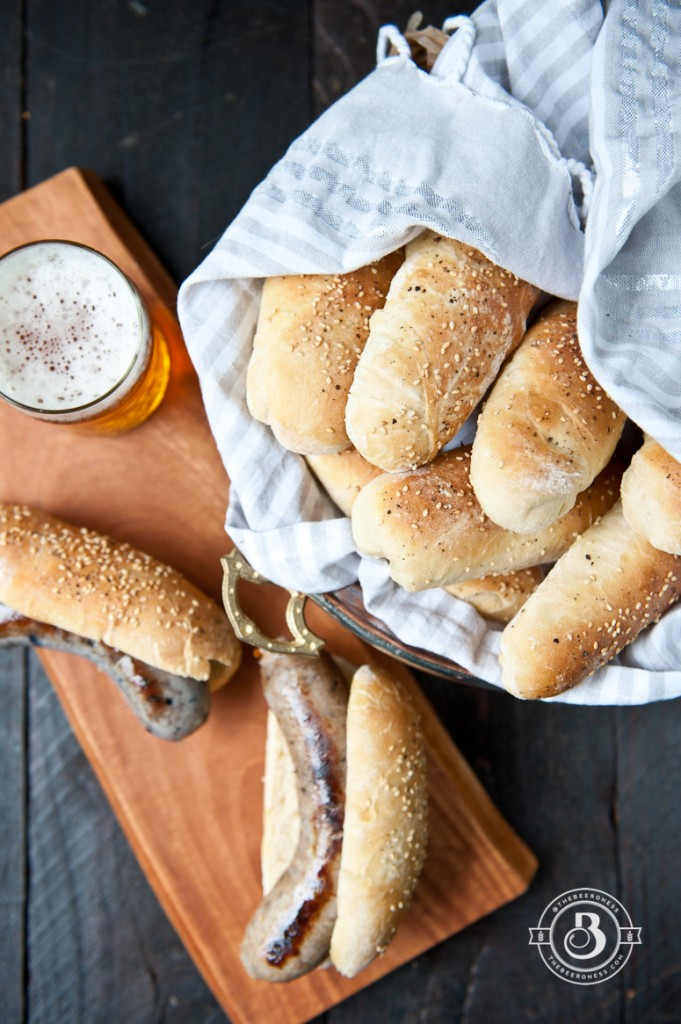 Homemade Beer Hot Dog Buns-3