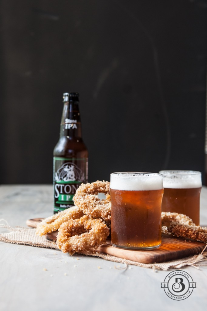 Crispy Beer Battered Steak House Onion Rings  -2