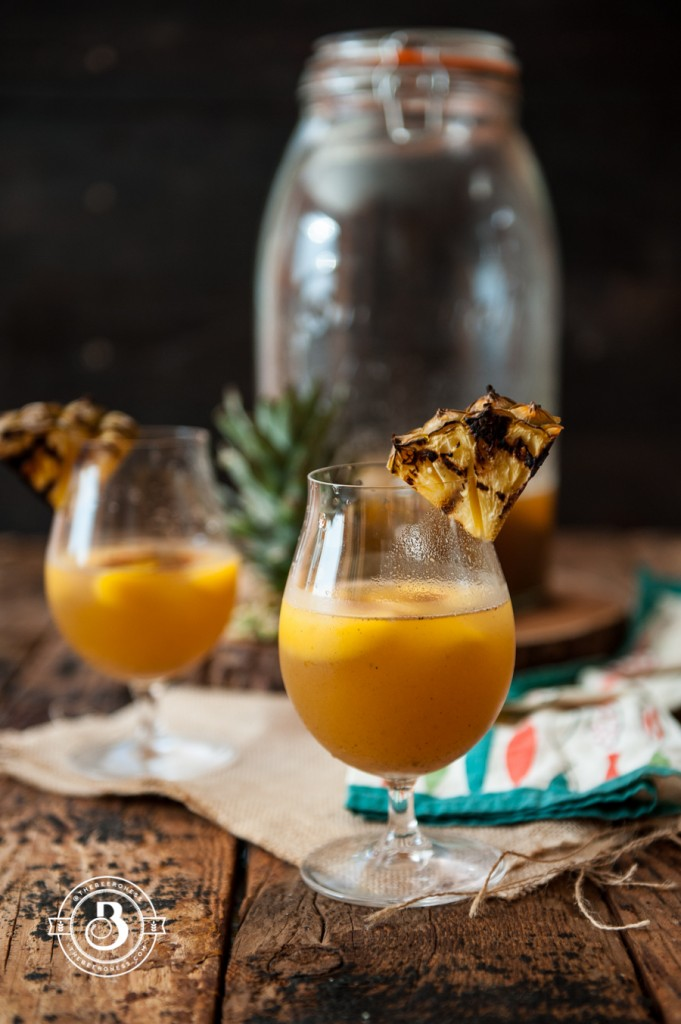 Grilled Pineapple Beer Sangria -4