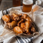 IPA Sriracha Chicken Wings + How To Get The Crispiest Baked Wings Ever
