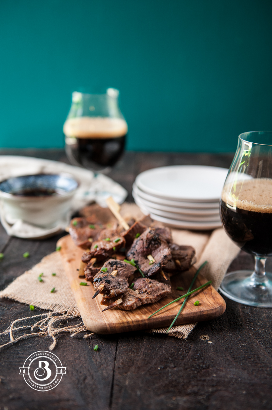 Thai Chili Stout Beef Skewers-1