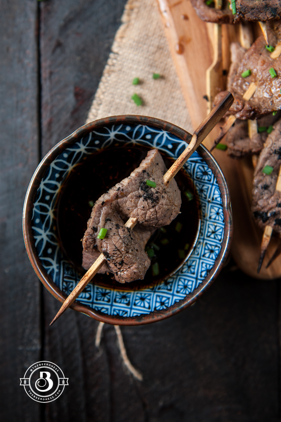 Thai Chili Stout Beef Skewers-4