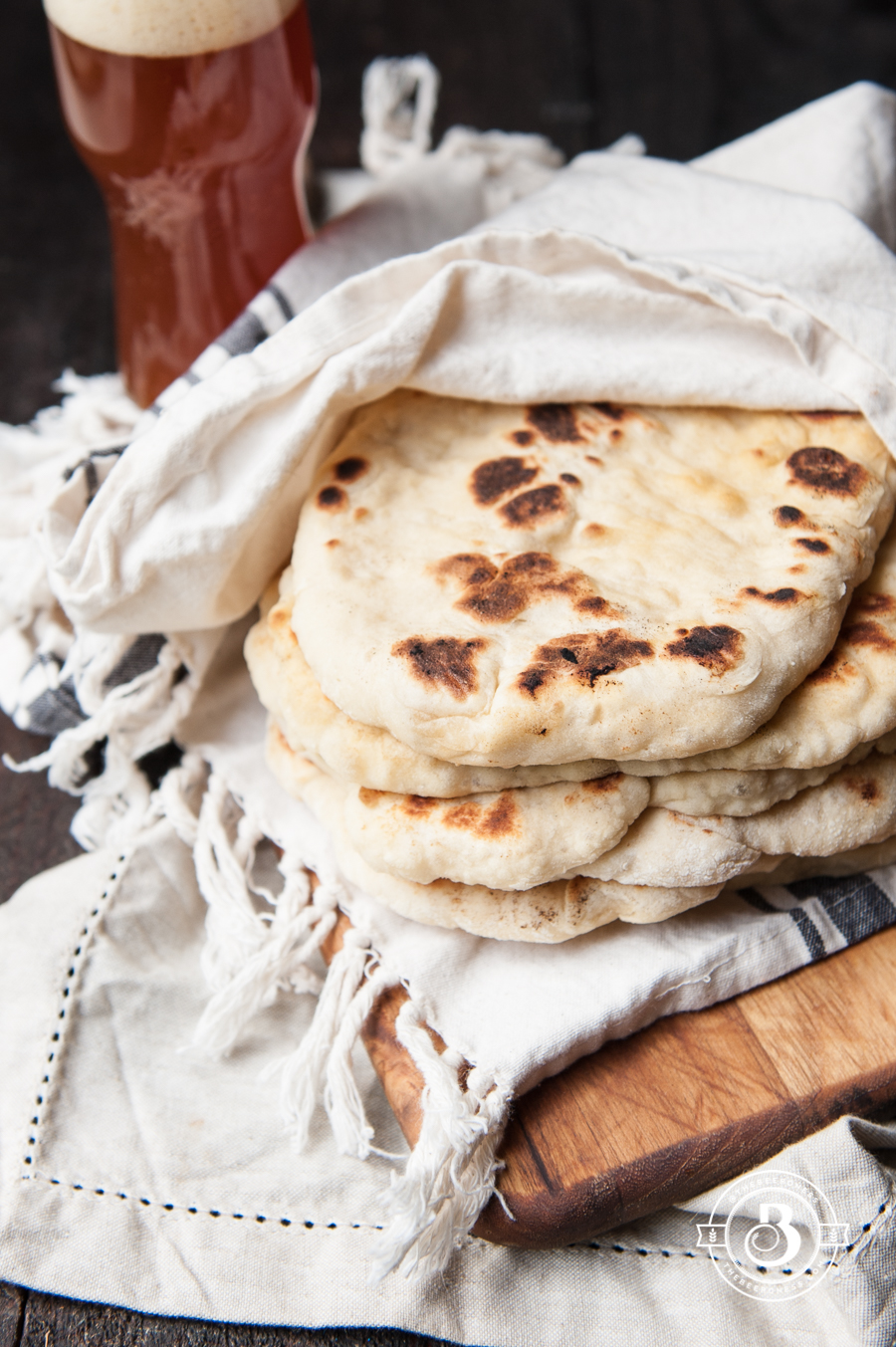 No yeast 20-minute Beer Flat Bread