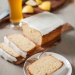 Lemon Beer Pound Cake
