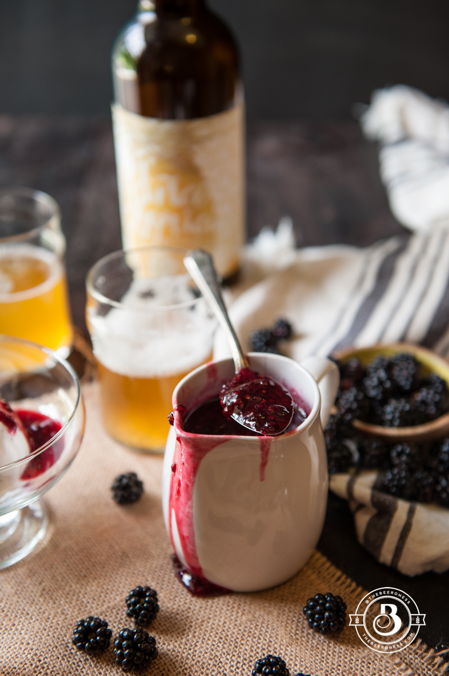 Wild Ale Blackberry Sauce