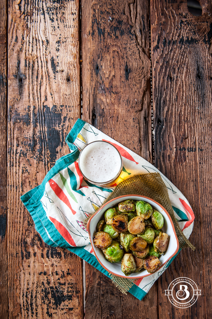 Sriracha Honey Beer Brussels Sprouts -3