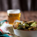 Sriracha Honey Beer Brussels Sprouts