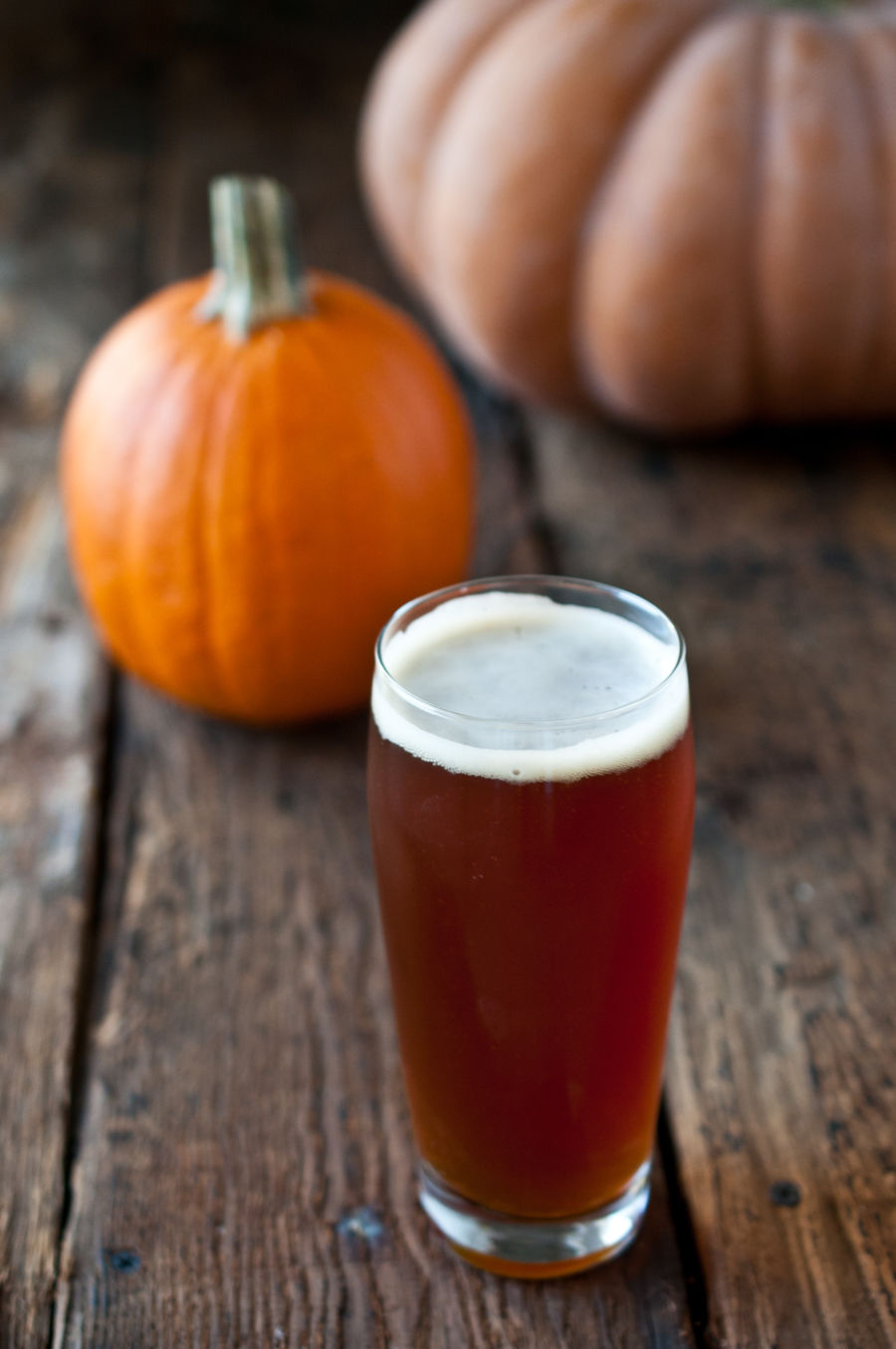 The Beer. There's no defined base style for a pumpkin beer. You can start with an amber, pale, wheat, porter, stout or any other style, and simply add pumpkin and spices. Really, it's that easy. The only essential rule of thumb is to start with a recipe that isn't very hoppy, and .