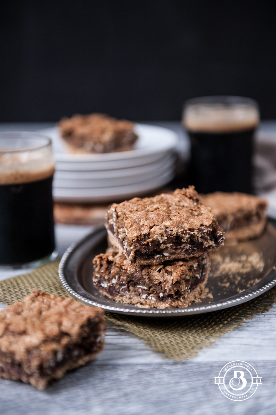 Oatmeal Stout Cookie Bars-1