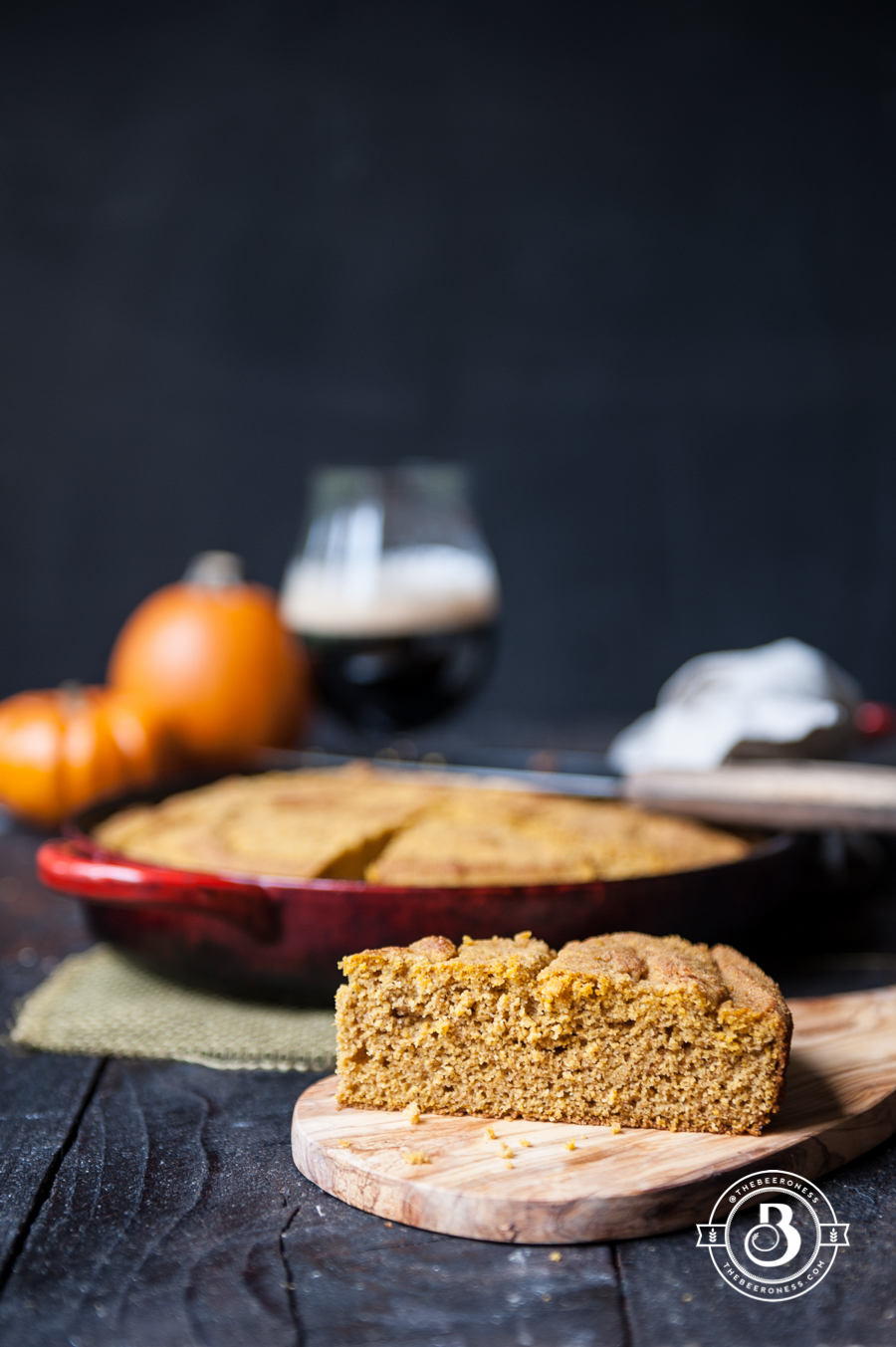 Pumpkin Ale Corn Bread1