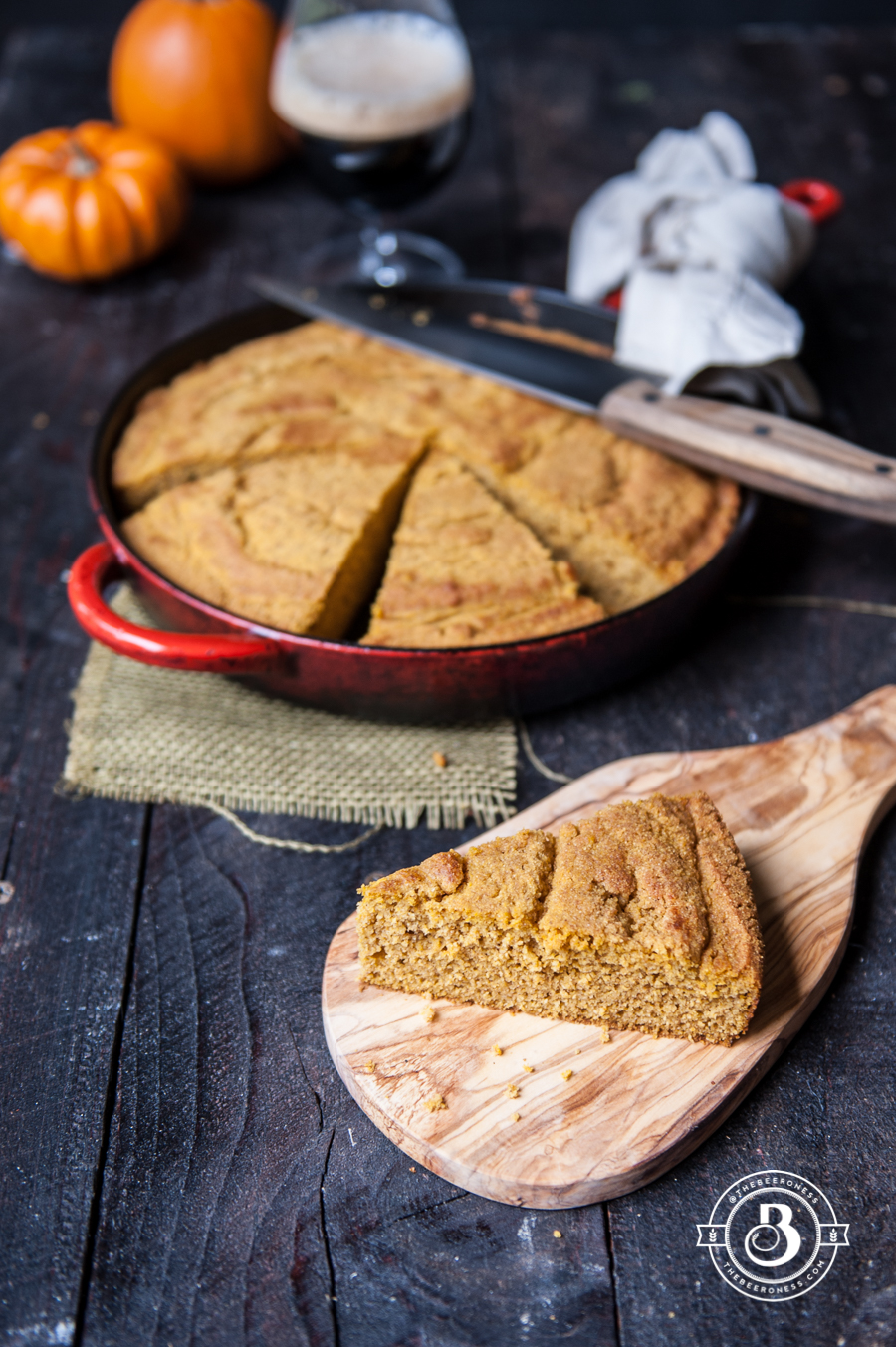 Pumpkin Ale Corn Bread2