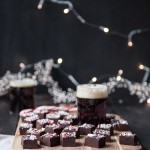 Holiday Ale Candy Cane Truffle Fudge