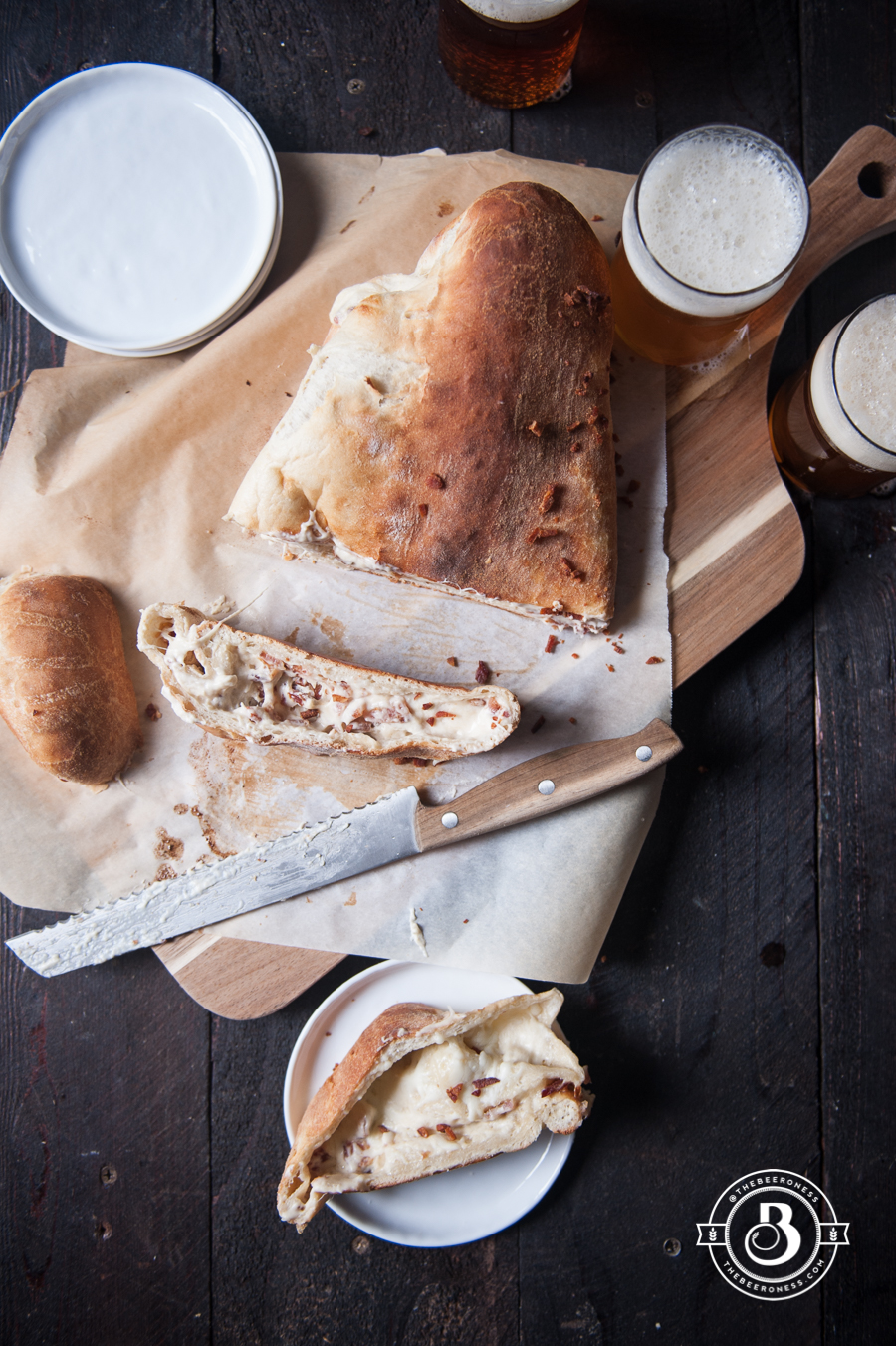 Bacon Beer Cheese Stromboli3