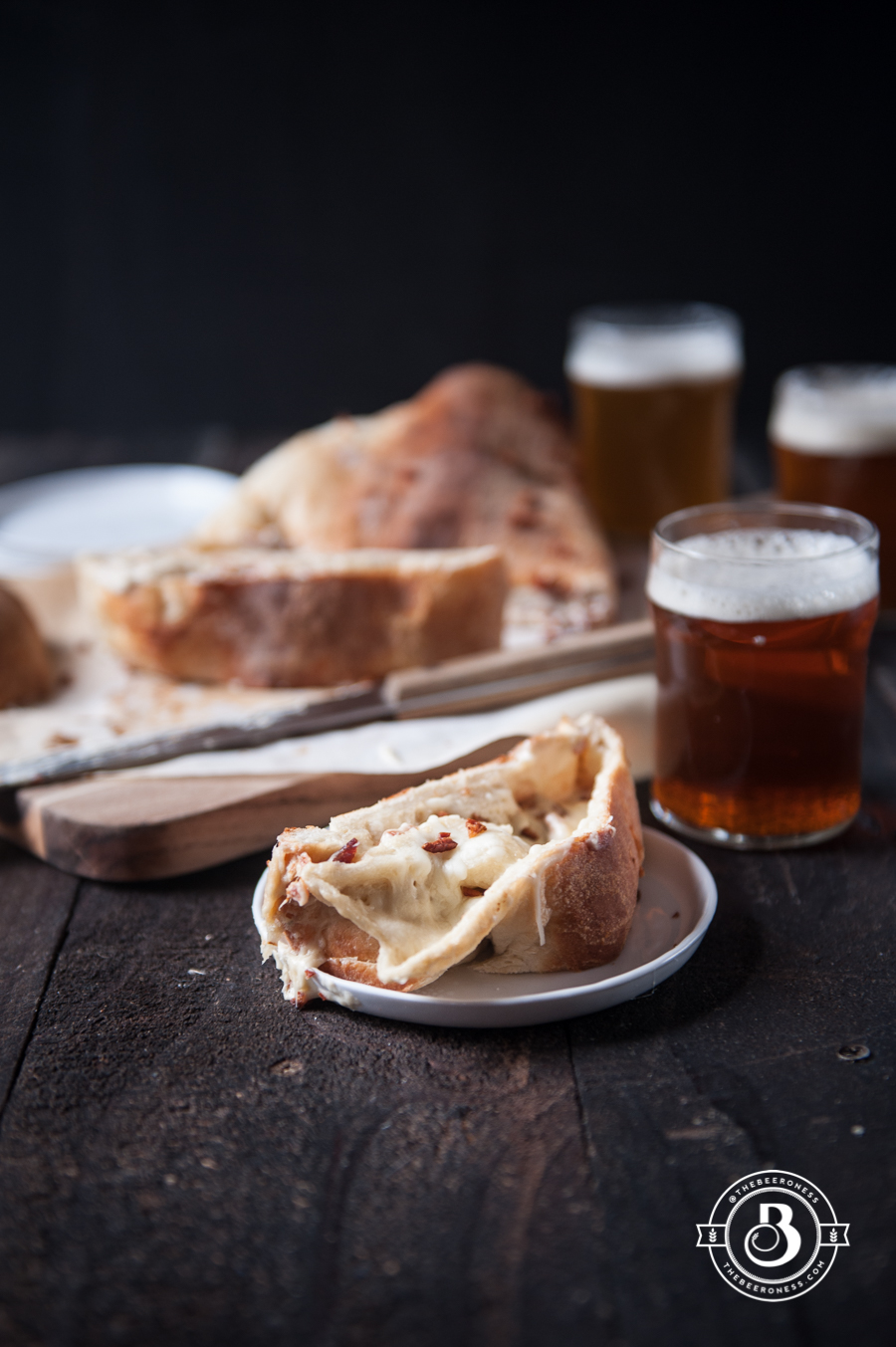 Bacon Beer Cheese Stromboli5