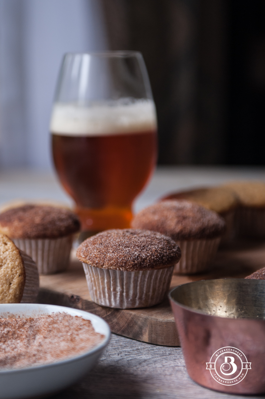 One Bowl Cinnamon Sugar Beer Muffins6