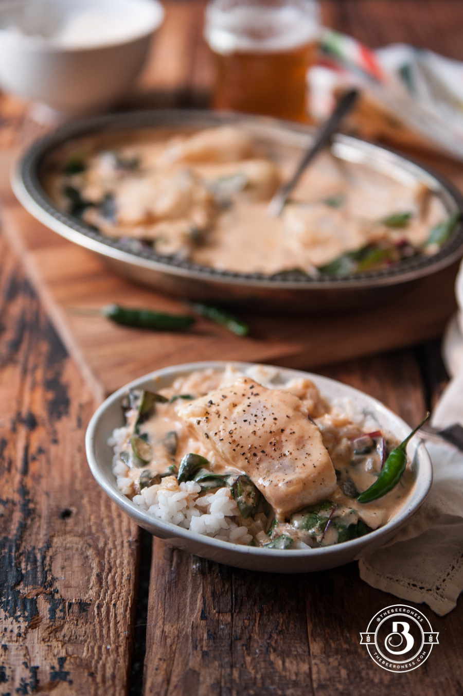 Coconut Pale Ale Curry Cod4
