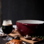 Coq au Ale: Drunk French Chicken + A Case for Proper Glassware