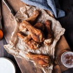 Beer Brined Rotisserie Spiced Chicken Legs