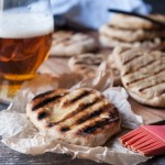 Grilled Garlic Beer Flatbread