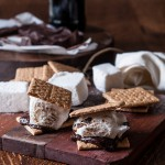 Beer S'Mores: Stout Chocolate Bar and Belgian Ale Marshmallows