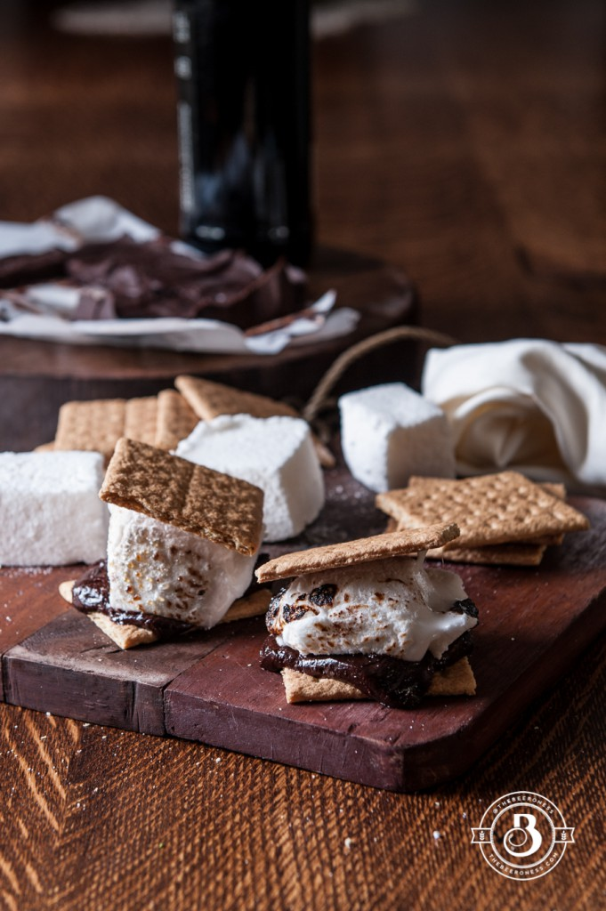 Beer S'Mores Stout Chocolate Bar and Belgian Ale Marshmallows3