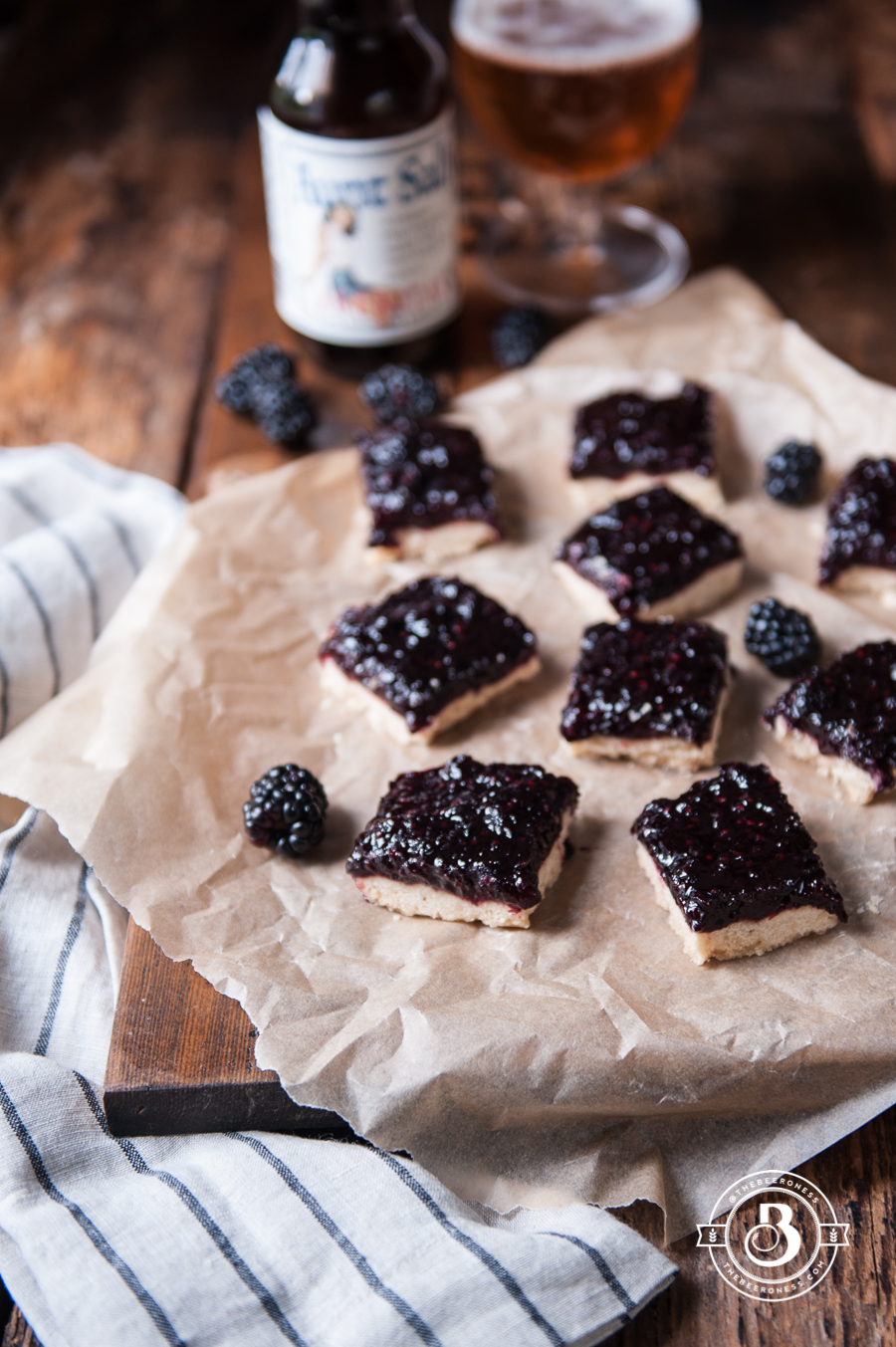 Vanilla Shortbread and Blackberry Beer Jam Bars2