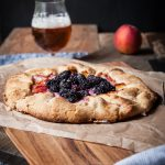 Blackberry Peach Saison Galette + Beer's Favorite Celebrity