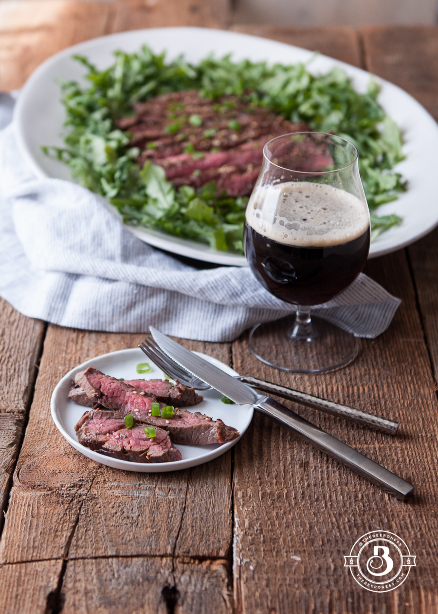Korean Porter Skirt Steak (grill or oven)