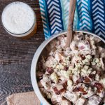 Beer Bacon and Blue Cheese Potato Salad