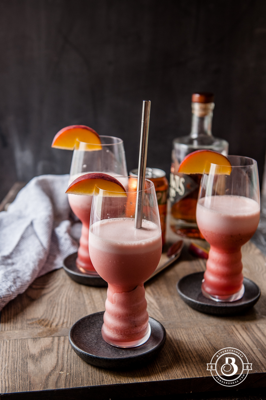 Raspberry Peach IPA Slushies