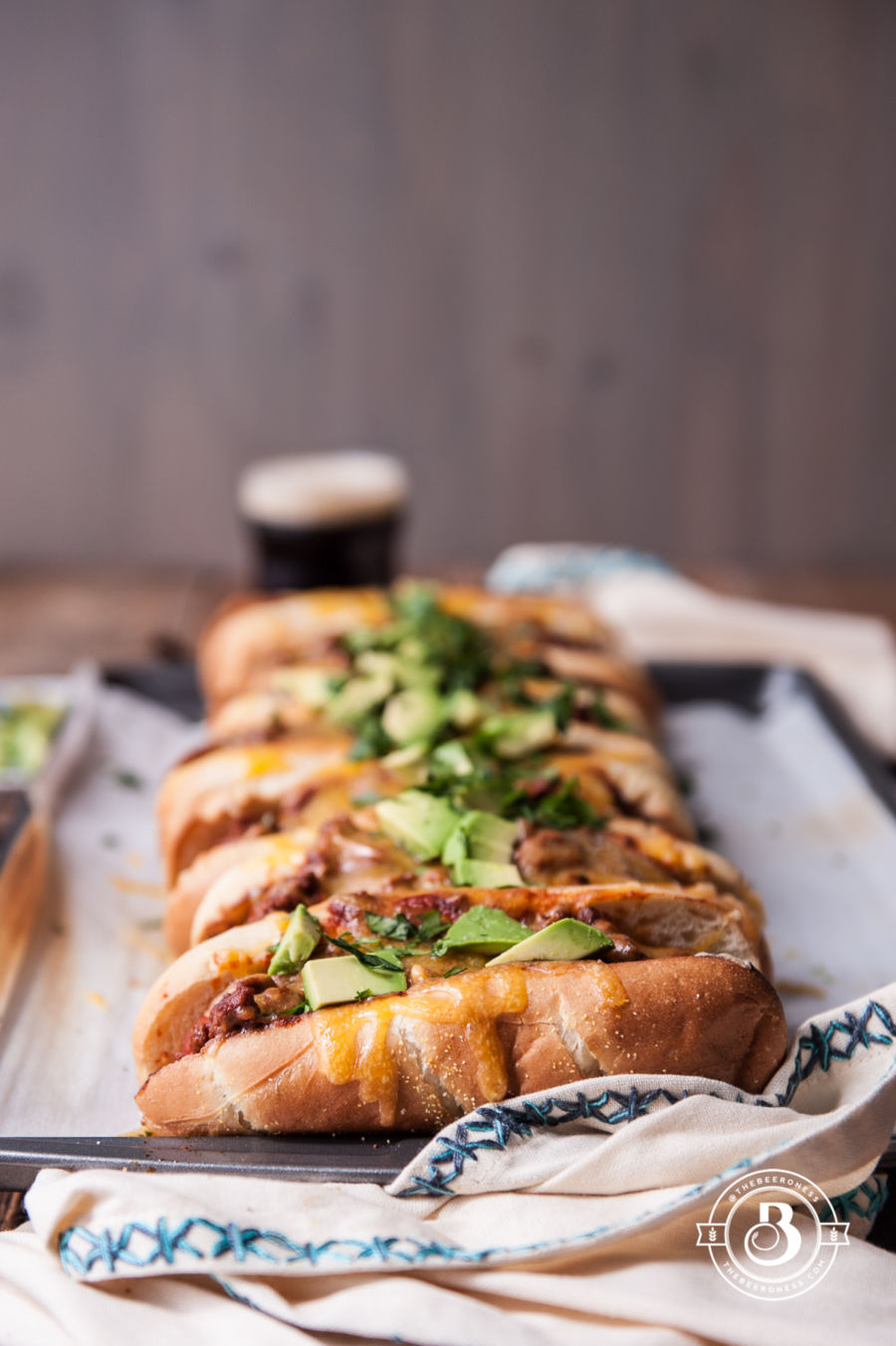 Beer Chili Party Dogs5
